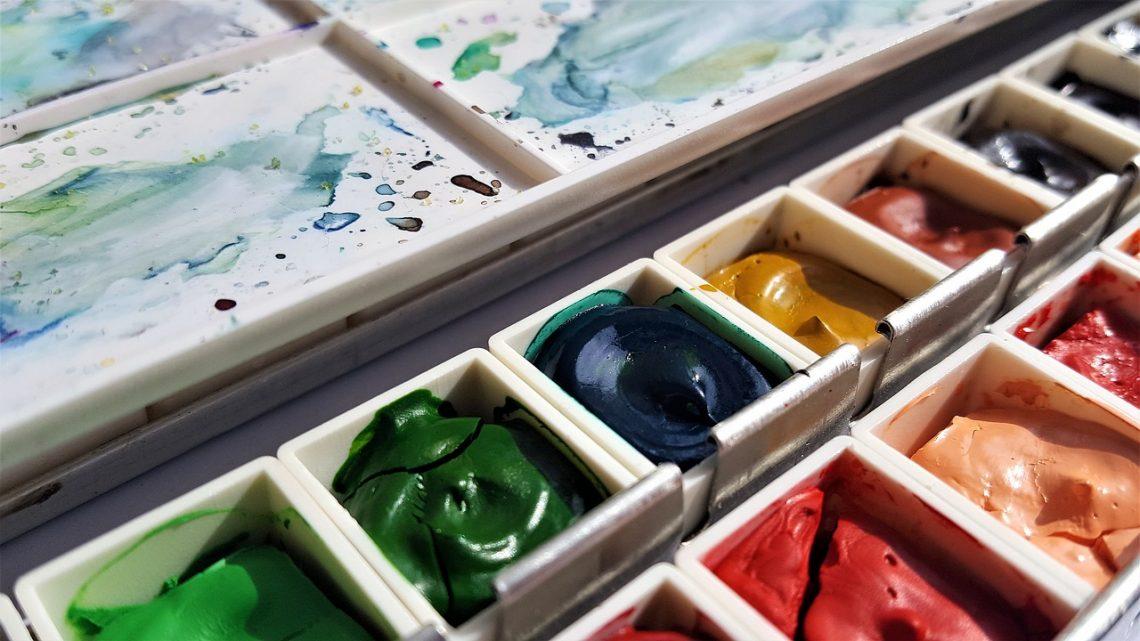 acuarelas profesionales, acuarela, art, painting, colors