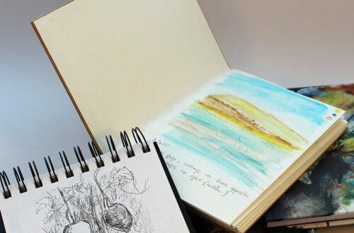 sketch, draw, sketchbook