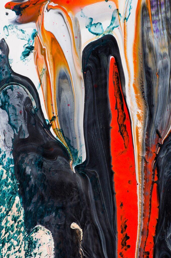 art, modern, painting