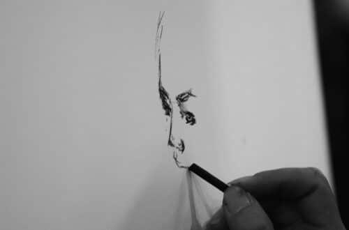 art, drawing, charcoal