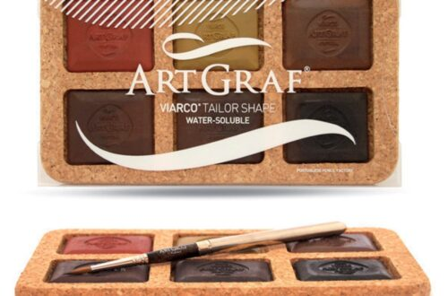 ArtGraf, grafitos acuarelables