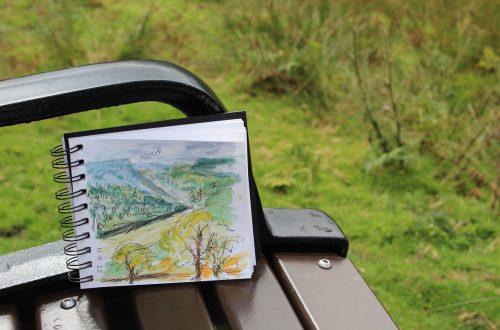 pintar con acuarelas, sketch, sketchbook, plein air